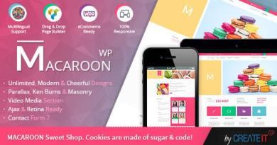 Macaroon Sweet Shop - Colorful WooCommerce Theme 4