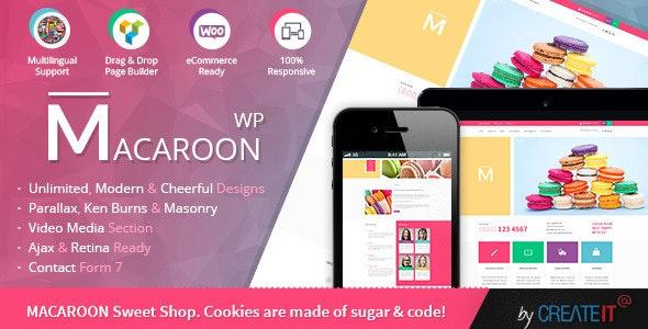 Macaroon Sweet Shop - Colorful WooCommerce Theme 1