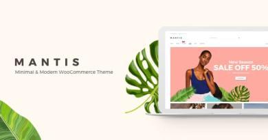 Mantis - Minimal & Modern WooCommerce Theme 4