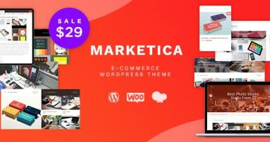 Marketica - eCommerce and Marketplace - WooCommerce WordPress Theme 2