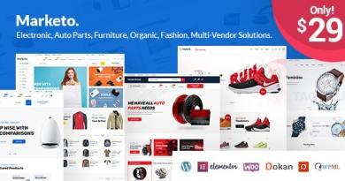 Marketo - eCommerce & Multivendor Marketplace Woocommerce WordPress Theme 4