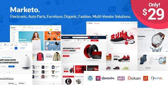 Marketo - eCommerce & Multivendor Marketplace Woocommerce WordPress Theme 1