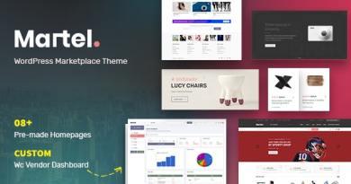 Martel - Modern eCommerce Marketplace WordPress Theme 8