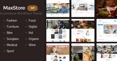 MaxStore - Creative, Minimalist WordPress Theme 3