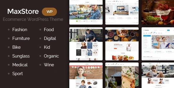 MaxStore - Fashion, Food, Furniture, Medical, Sport, Marketplace WooCommerce Theme 1
