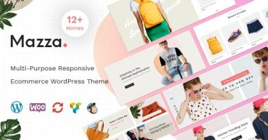 Mazza - Multi-purpose Creative WooCommerce Theme 3