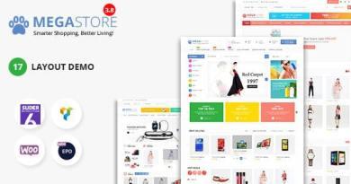 Mega Marketplace Store RTL Responsive WooCommerce WordPress Theme 2