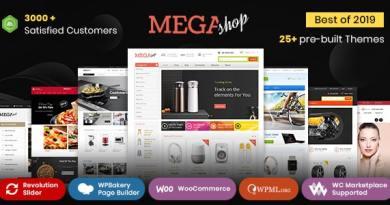 Mega Shop - WooCommerce Responsive Theme 3