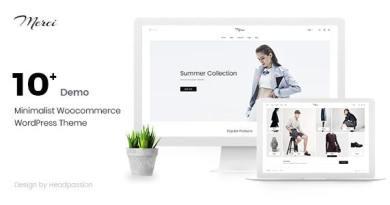 Merci - Fashion Minimal Marketplace Woocommerce Theme 3