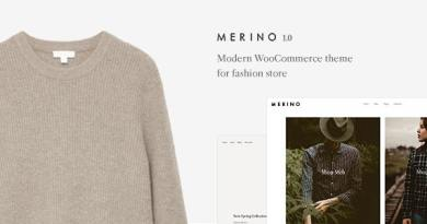 Merino | Modern WooCommerce shop theme for fashion store 3