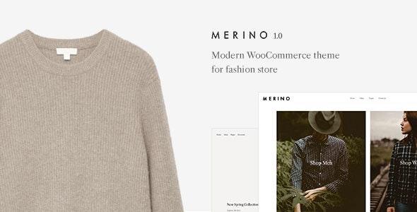 Merino   Modern WooCommerce shop theme for fashion store 1
