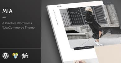Mia - Creative Fashion WordPress WooCommerce Theme 3