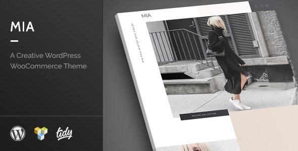 Mia - Creative Fashion WordPress WooCommerce Theme 1
