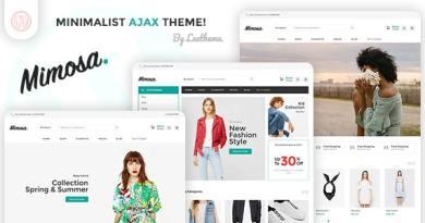 Mimosa - Minimalist AJAX WooCommerce WordPress Theme 4