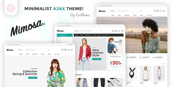 Mimosa - Minimalist AJAX WooCommerce WordPress Theme 1