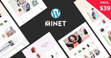 Minet - Minimalist eCommerce WordPress Theme 2