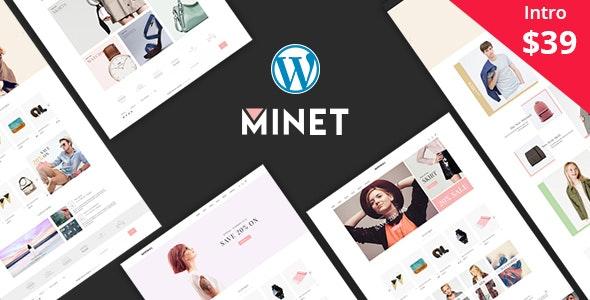 Minet - Minimalist eCommerce WordPress Theme 1
