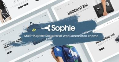 Minimal WooCommerce Theme - Sophie 4