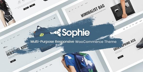Minimal WooCommerce Theme - Sophie 5