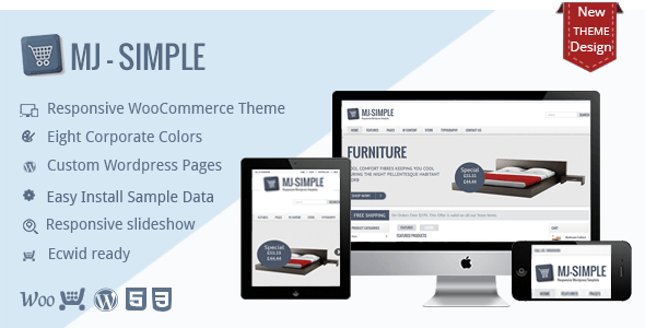 MJ Simple - Responsive WooCommerce theme 10