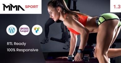 MMAsport - Sporting Club Shop WooCommerce Theme 4