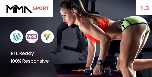 MMAsport - Sporting Club Shop WooCommerce Theme 1