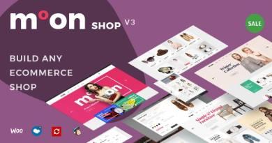 Moon Shop - Responsive eCommerce WordPress Theme for WooCommerce 4