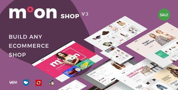 Moon Shop - Responsive eCommerce WordPress Theme for WooCommerce 1
