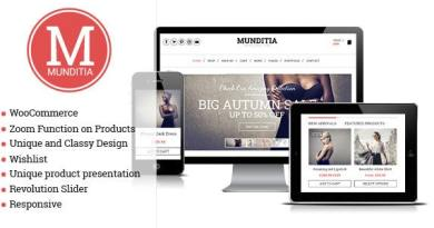 Munditia - Responsive Ecommerce WordPress Theme 15