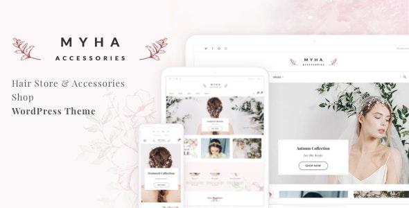 Myha - Accessories Store & Hair Shop WordPress theme 11