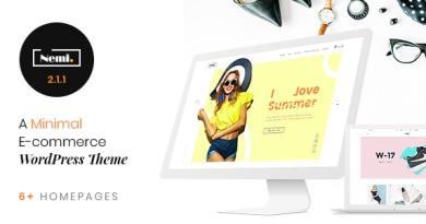 Nemi - Multi Store Responsive WordPress Theme 2