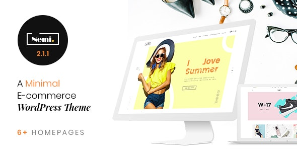 Nemi - Multi Store Responsive WordPress Theme 5