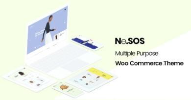 NeSOS - Multipurpose WooCommerce WordPress Theme 2