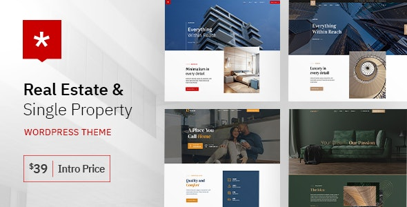 Nestin - Real Estate WordPress Theme 1