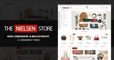 Nielsen - E-commerce WordPress Theme 2