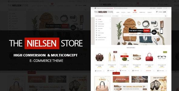 Nielsen - E-commerce WordPress Theme 1