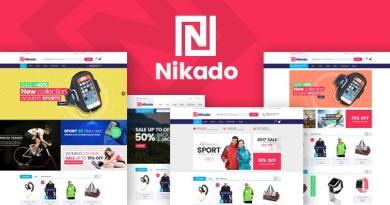 Nikado - Responsive Theme for WooCommerce WordPress 3
