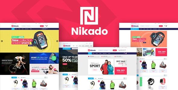 Nikado - Responsive Theme for WooCommerce WordPress 24
