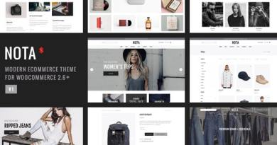 Nota - Creative Multi-Purpose eCommerce Theme 8