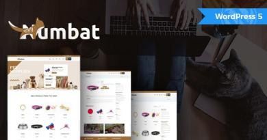 Numbat - Pet Shop WooCommerce WordPress Theme 3