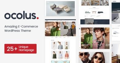 Ocolus - Fashion & Marketplace Multipurposes WooCommerce Theme 9
