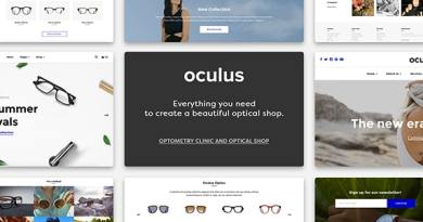 Oculus - Creative Sunglasses WooCommerce Shop 2
