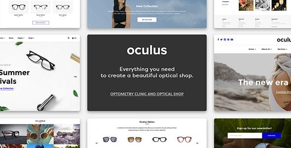 Oculus - Creative Sunglasses WooCommerce Shop 1