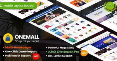 OneMall - eCommerce MarketPlace WooCommerce WordPress Theme (Mobile Layouts Included) 2