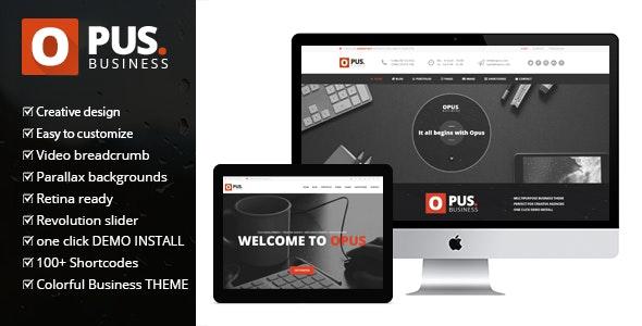 Opus Business - Multipurpose Business WordPress Theme 25