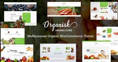 Organisk - Multipurpose Organic WooCommerce Theme 3