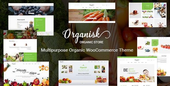 Organisk - Multipurpose Organic WooCommerce Theme 1