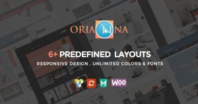 Orianna - Responsive WooCommerce Fashion Theme 2