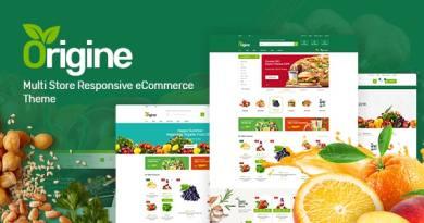 Origine - Organic Theme for WooCommerce WordPress 2