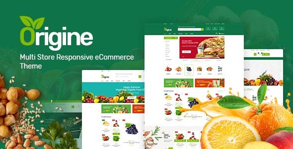 Origine - Organic Theme for WooCommerce WordPress 1